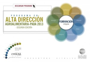 Programa Alta Direccion Agroalimentarria 2013