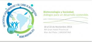 Congreso de Biotecnologia 2013